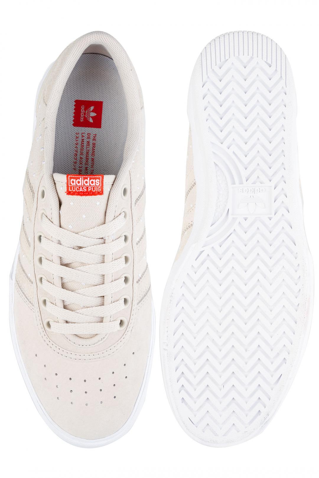 Uomo adidas Skateboarding Lucas Premiere clear brown white active red | Scarpe da skate