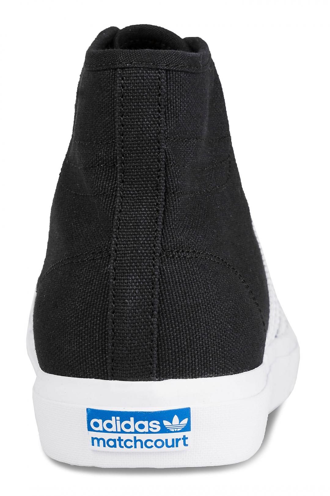 Uomo adidas Skateboarding Matchcourt High RX core black white gum | Scarpe da skate