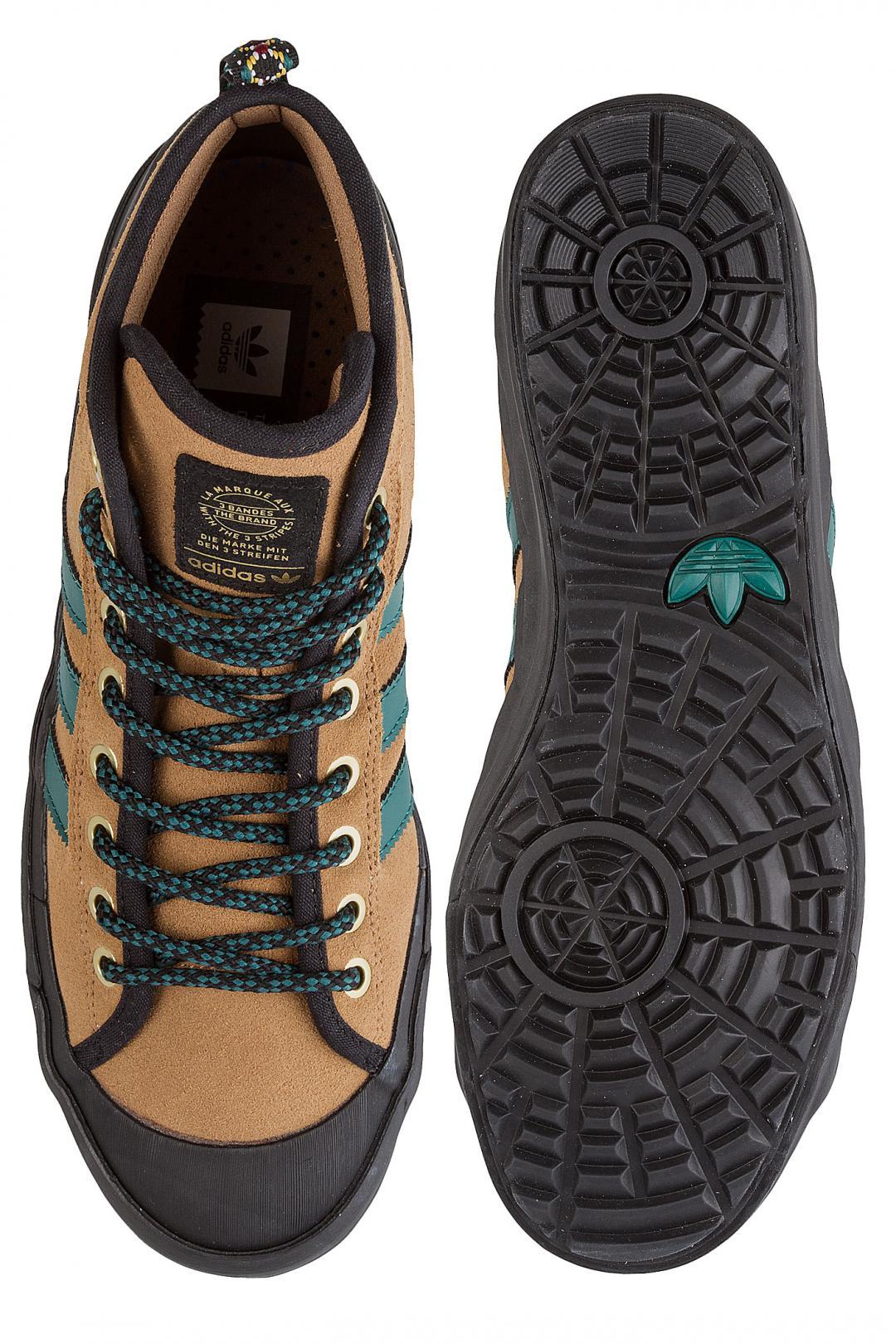 Uomo adidas Skateboarding Matchcourt High RX3 ravv desert noble green core bla | Sneakers high top