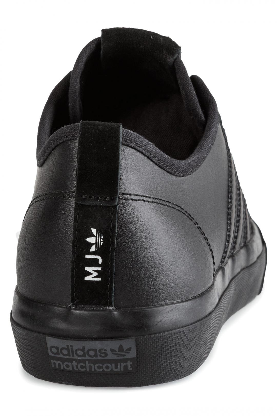 Uomo adidas Skateboarding Matchcourt RX core black core black silver | Scarpe da skate