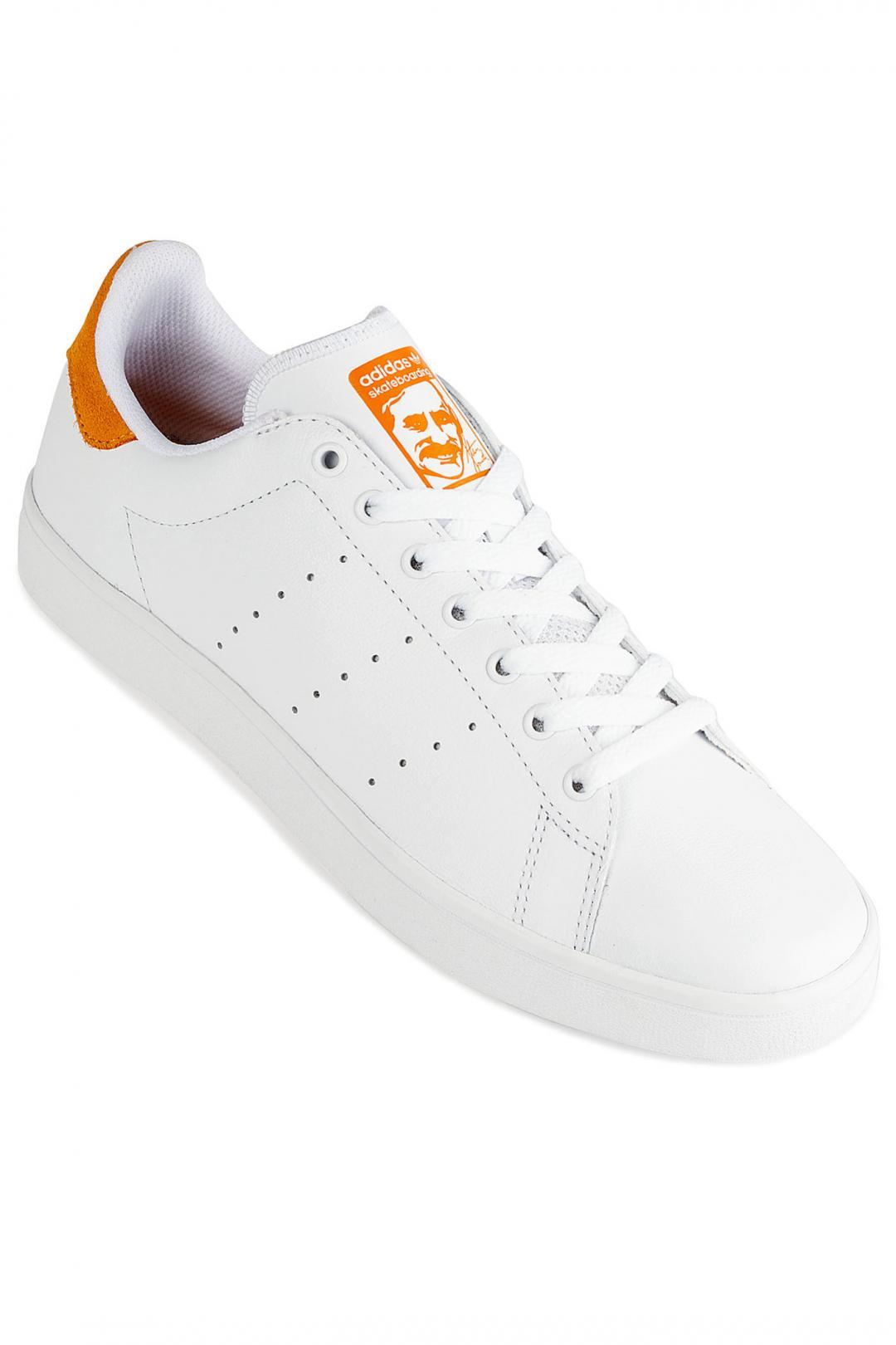 Uomo adidas Skateboarding Stan Smith Vulc white white yellow | Sneakers low top