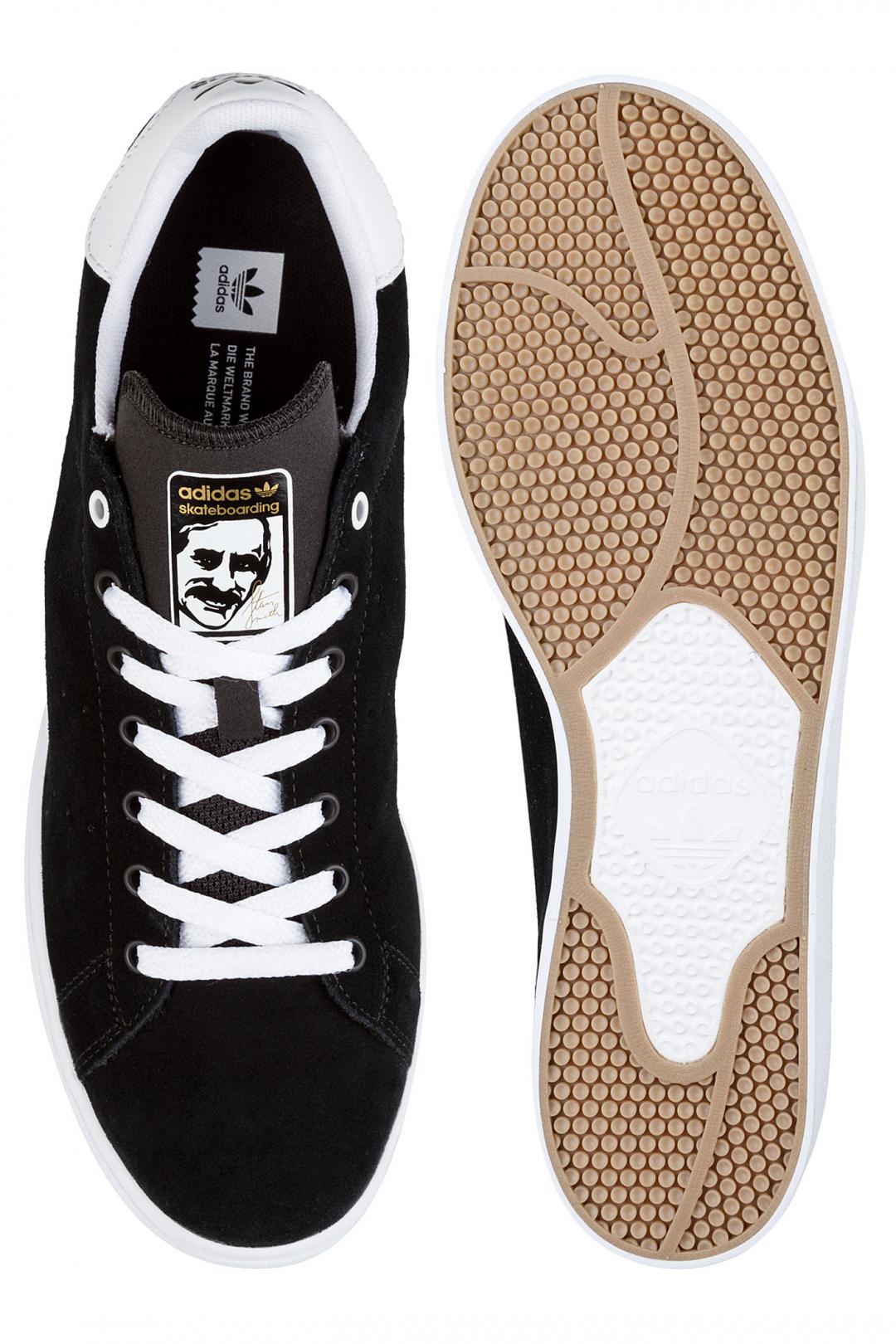 Uomo adidas Stan Smith Vulc core black white   Sneaker