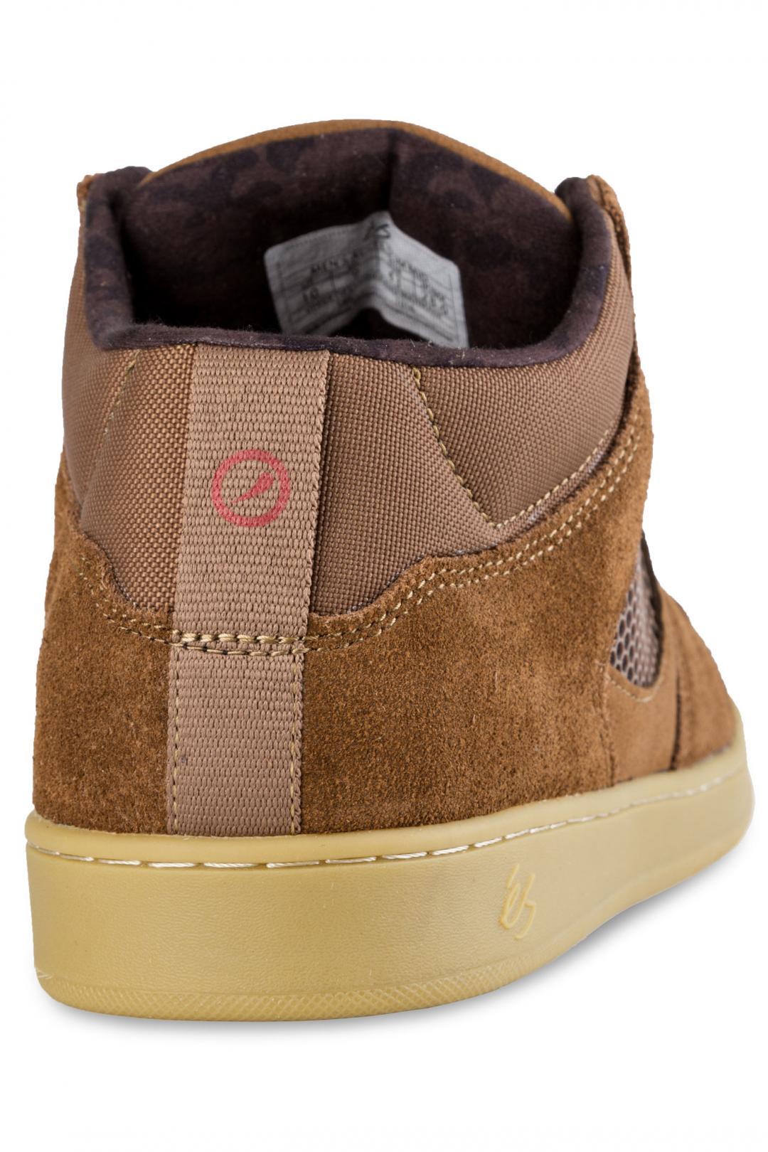Uomo éS Accel Slim Mid brown gum | Sneakers mid top