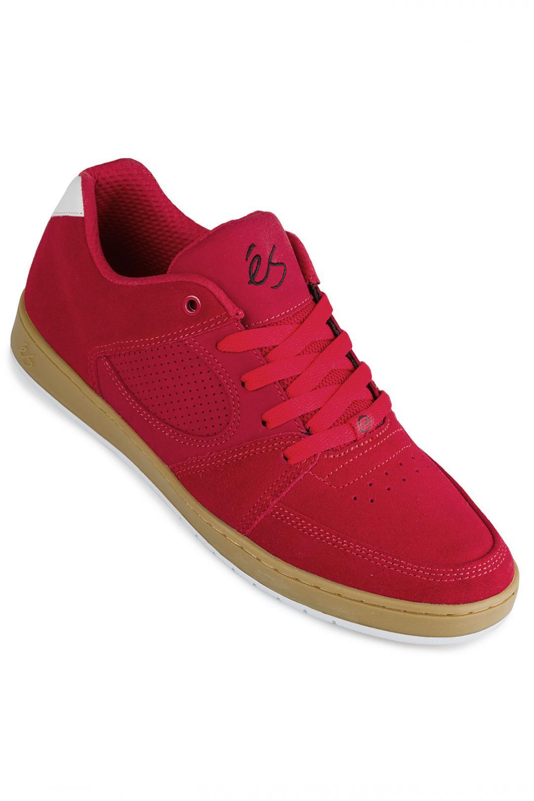 Uomo éS Accel Slim red gum | Sneakers low top
