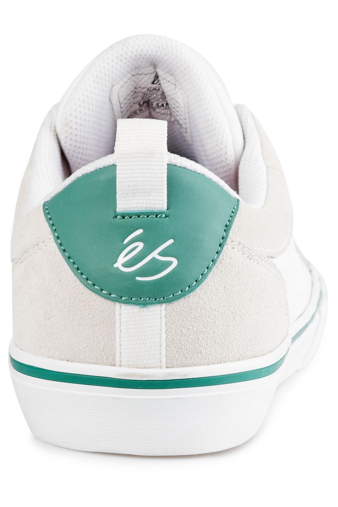 Uomo éS Aura Vulc white green   Sneaker