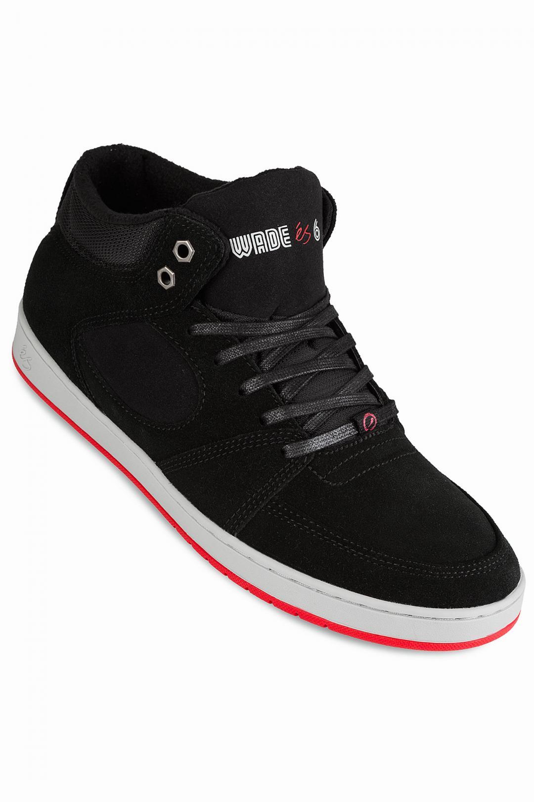 Uomo éS x Wade Desarmo Accel Slim Mid black | Sneakers mid top