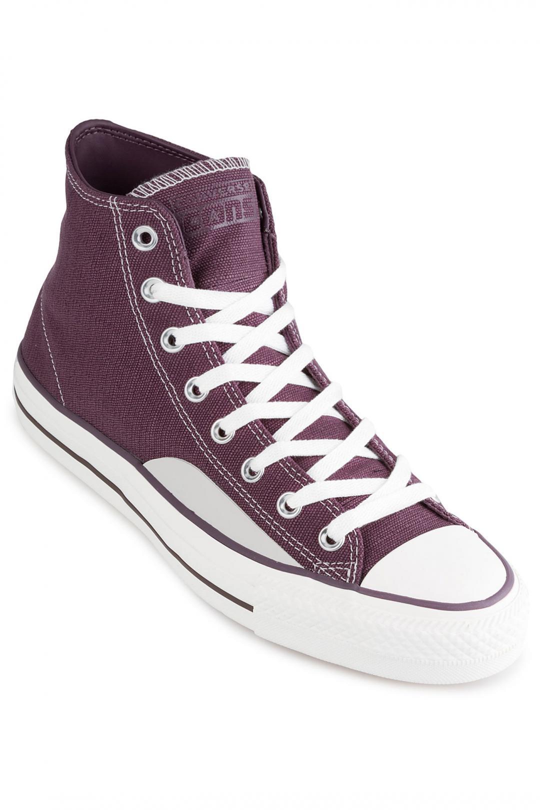 Uomo Converse Chuck Taylor All Star Pro Hi dusk purple vintage white gum   Scarpe da skate