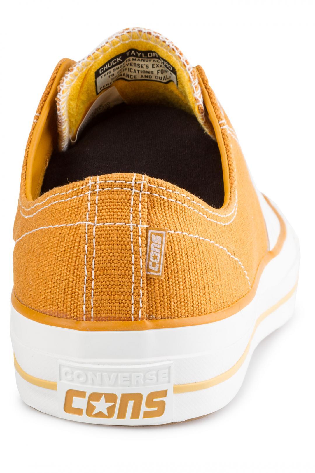 Uomo Converse Chuck Taylor All Star Pro turmeric gold vintage white | Sneaker