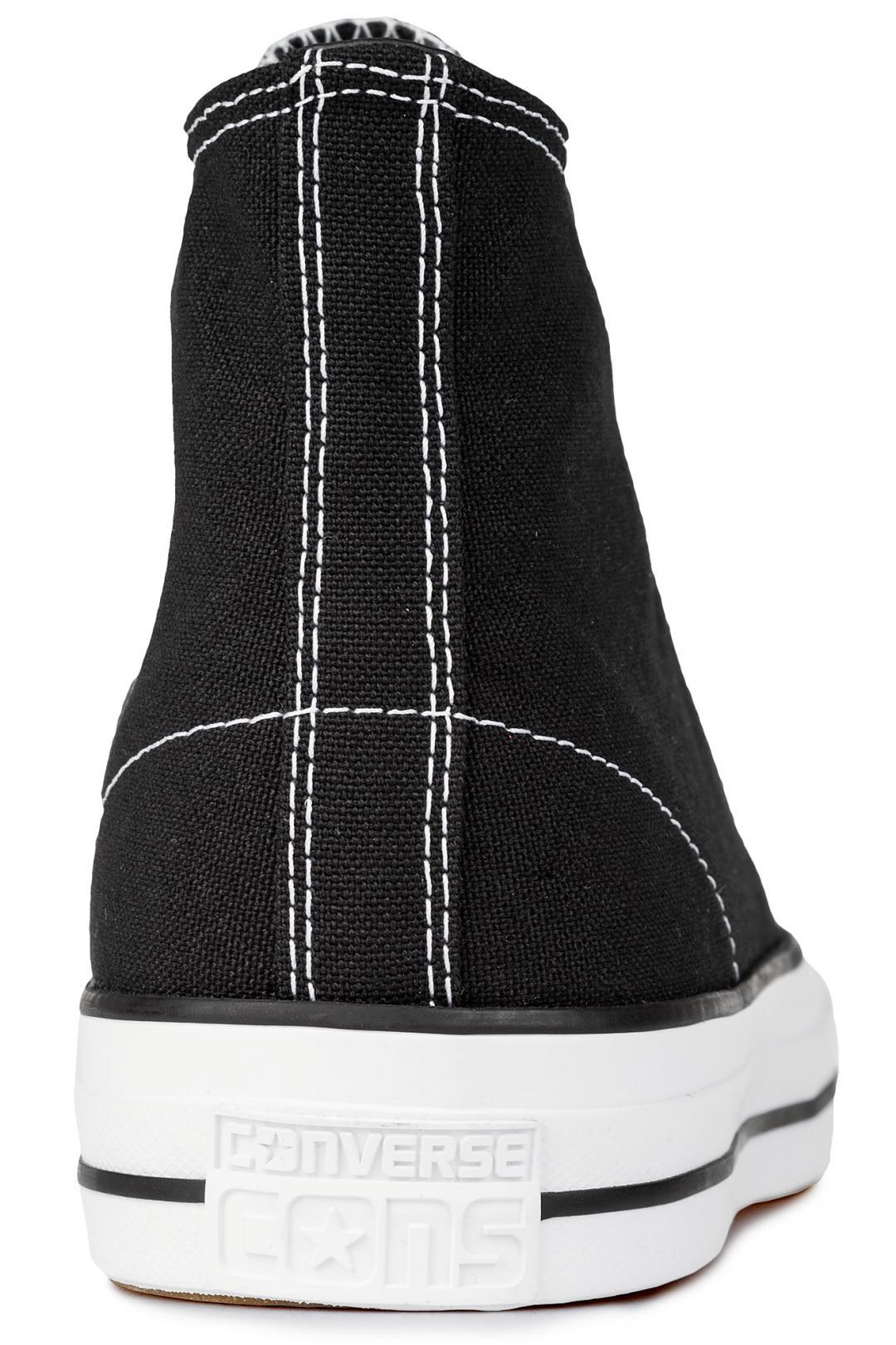 Uomo Converse CONS Chuck Taylor High All Star Pro black black white white | Sneaker