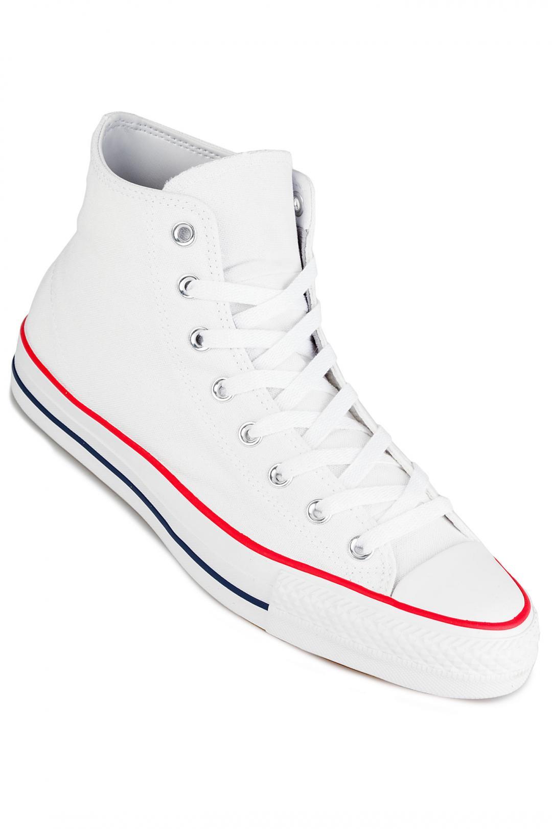 Uomo Converse CONS Chuck Taylor High All Star Pro white red insignia blue | Scarpe da skate