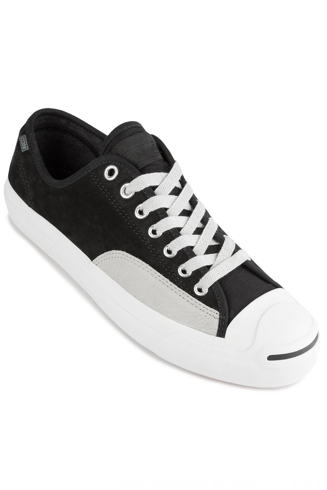 Uomo Converse Jack Purcell Pro black pale grey vintage white | Sneaker