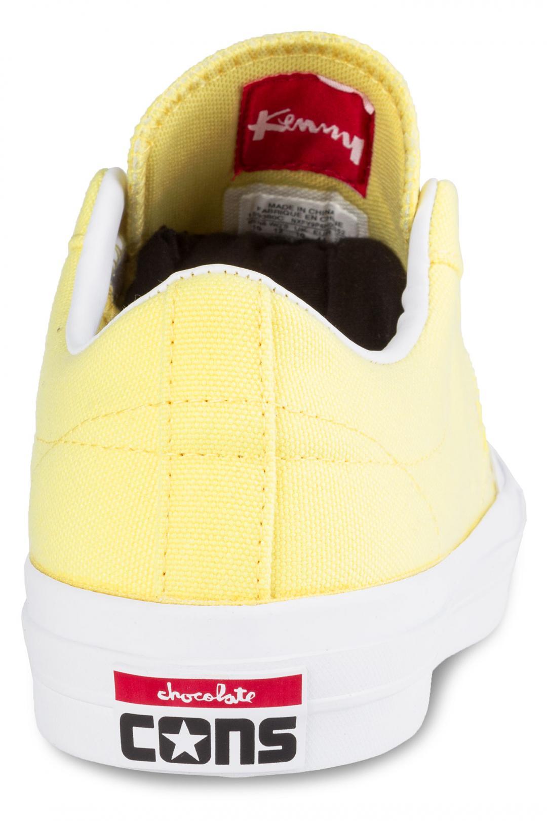 Uomo Converse x Chocolate One Star Pro OX yellow days ahead | Sneaker