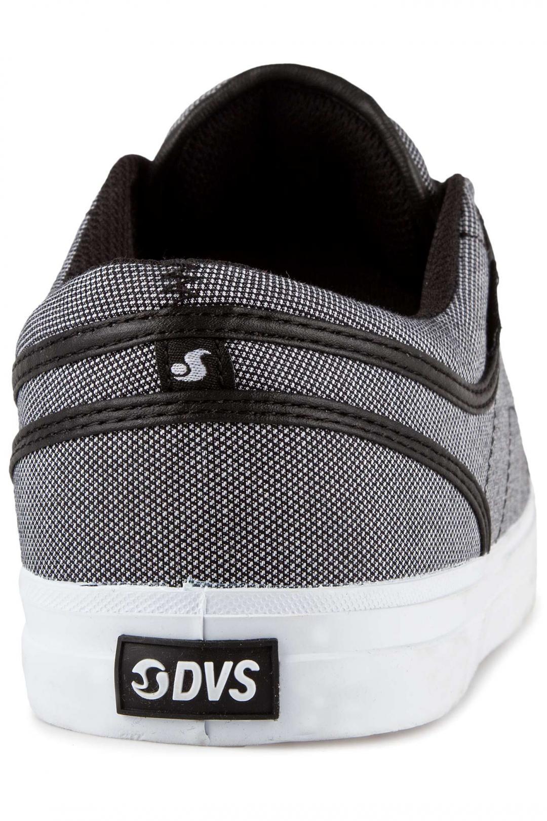Uomo DVS Aversa black chambray | Sneakers low top