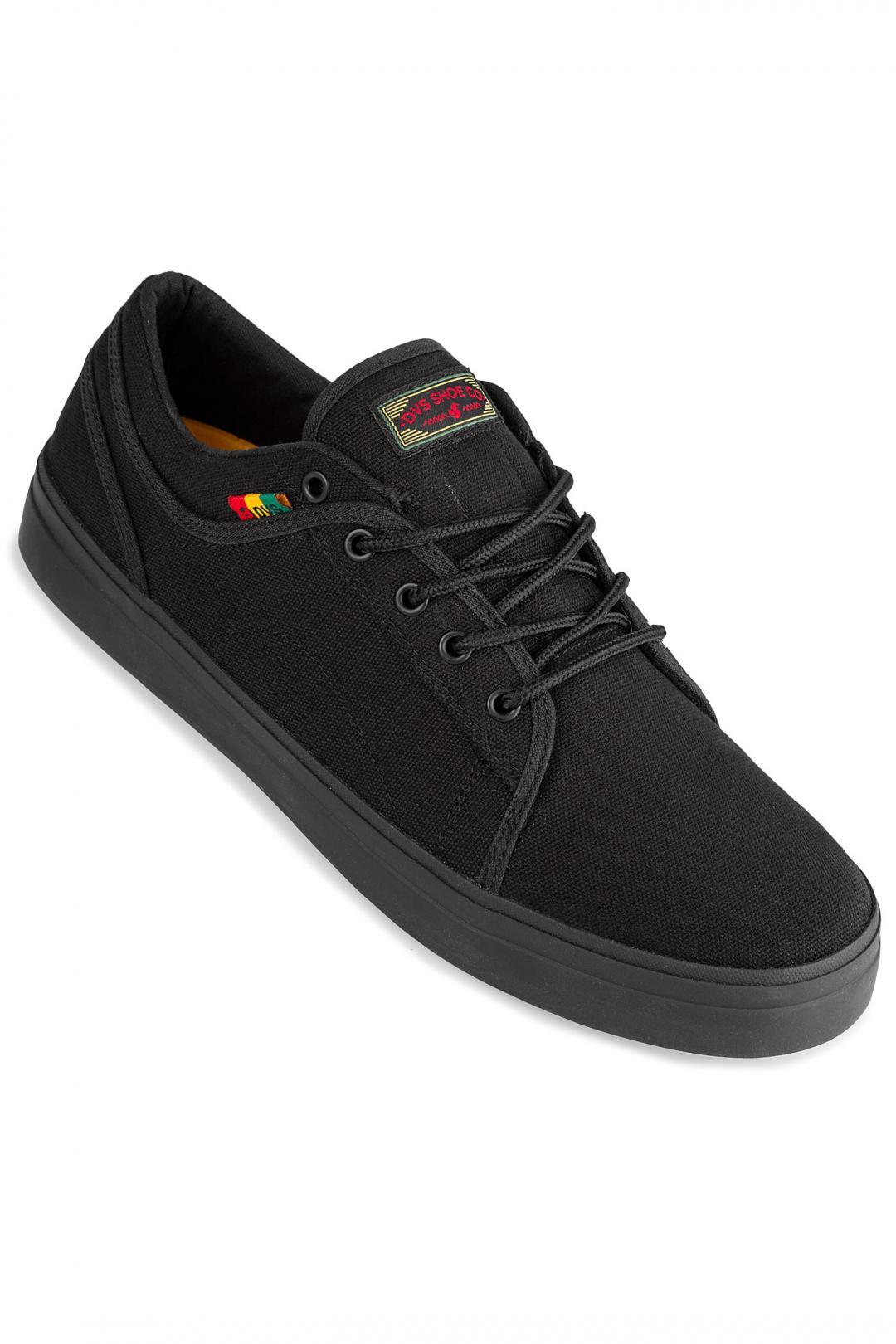Uomo DVS Aversa+ Canvas black rasta | Sneakers low top