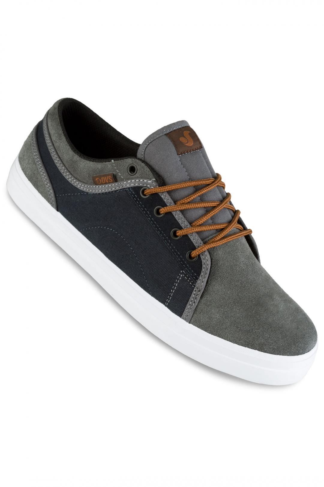 Uomo DVS Aversa Suede grey blue | Sneaker