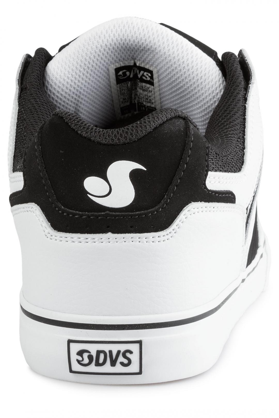 Uomo DVS Celsius CT Nubuck black white | Sneakers low top
