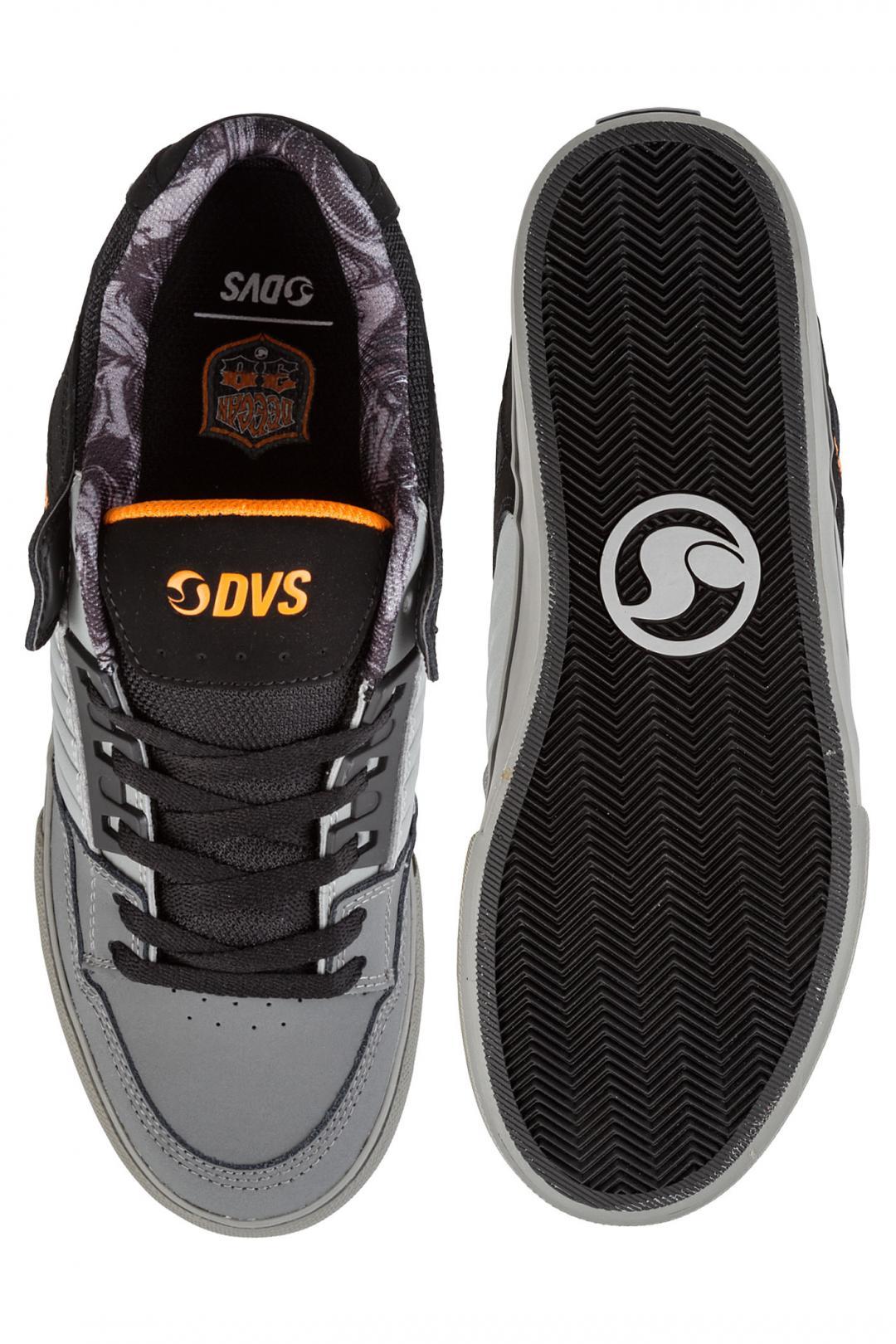 Uomo DVS Celsius CT Nubuck charcoal grey black deegan | Sneakers low top