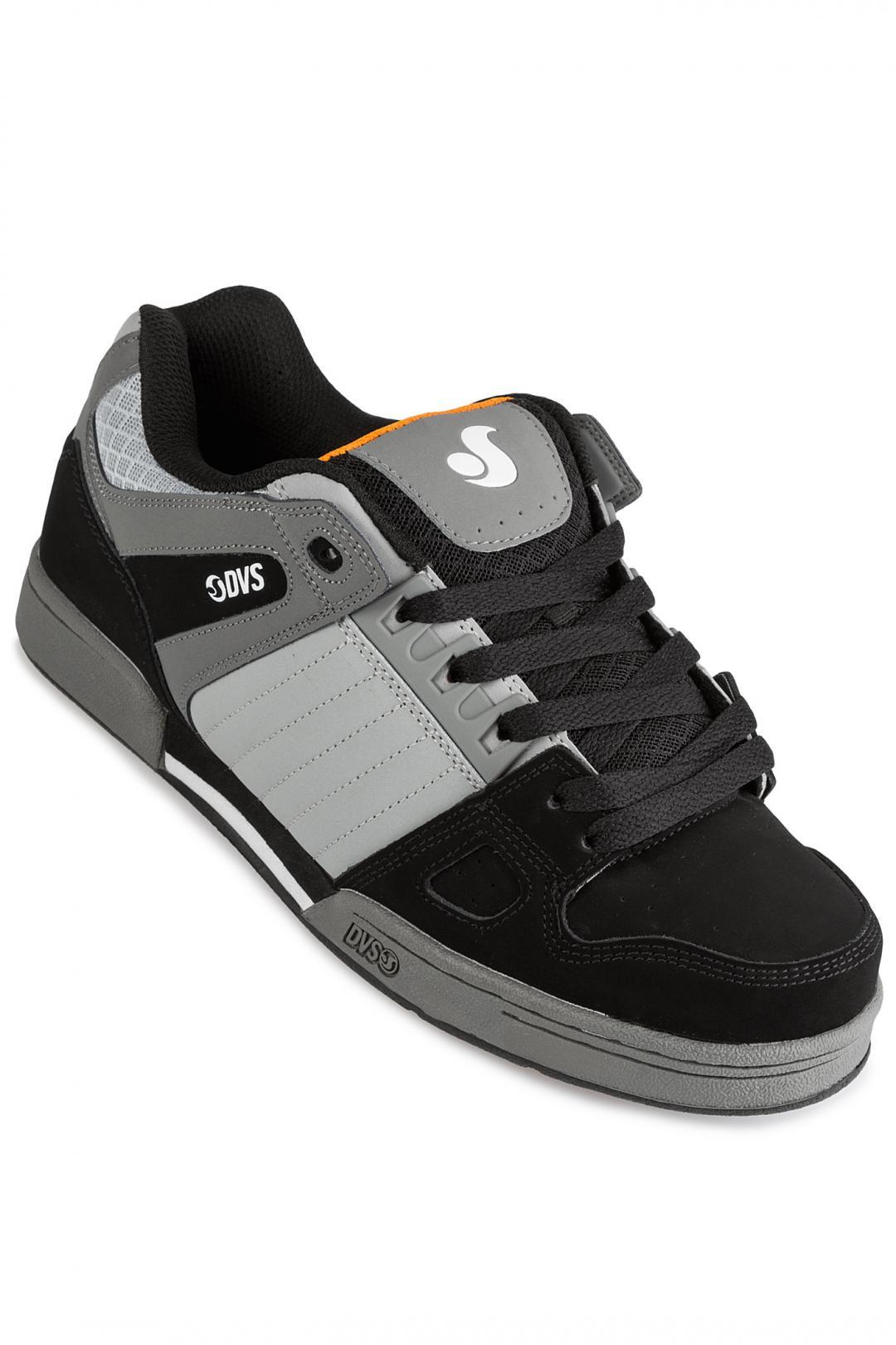 Uomo DVS Celsius grey black nubuck | Sneakers low top