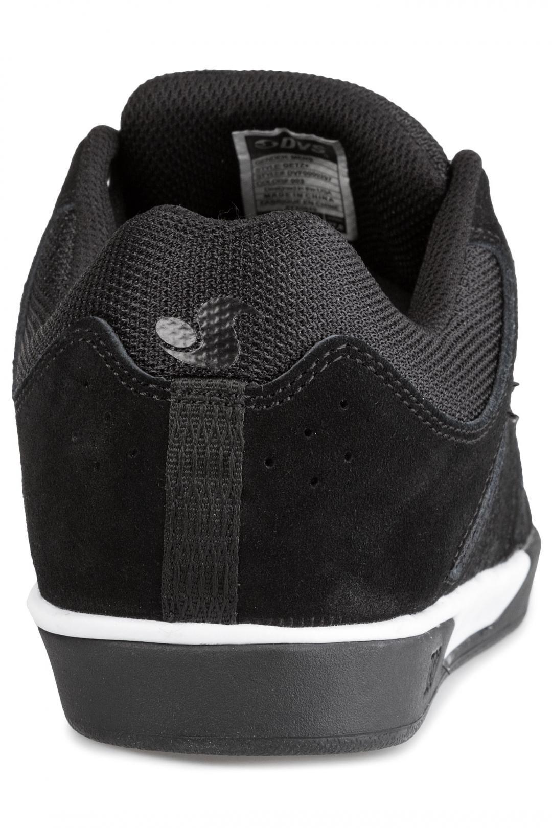 Uomo DVS Drift+ Suede black white black | Sneaker