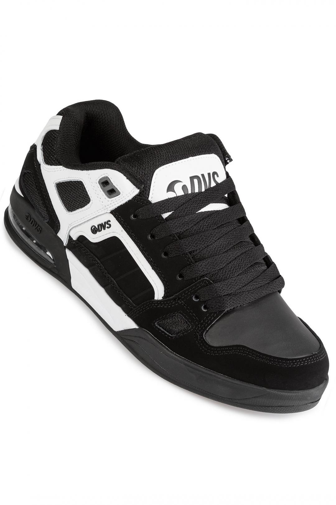 Uomo DVS Drone+ Nubuck white black   Sneaker