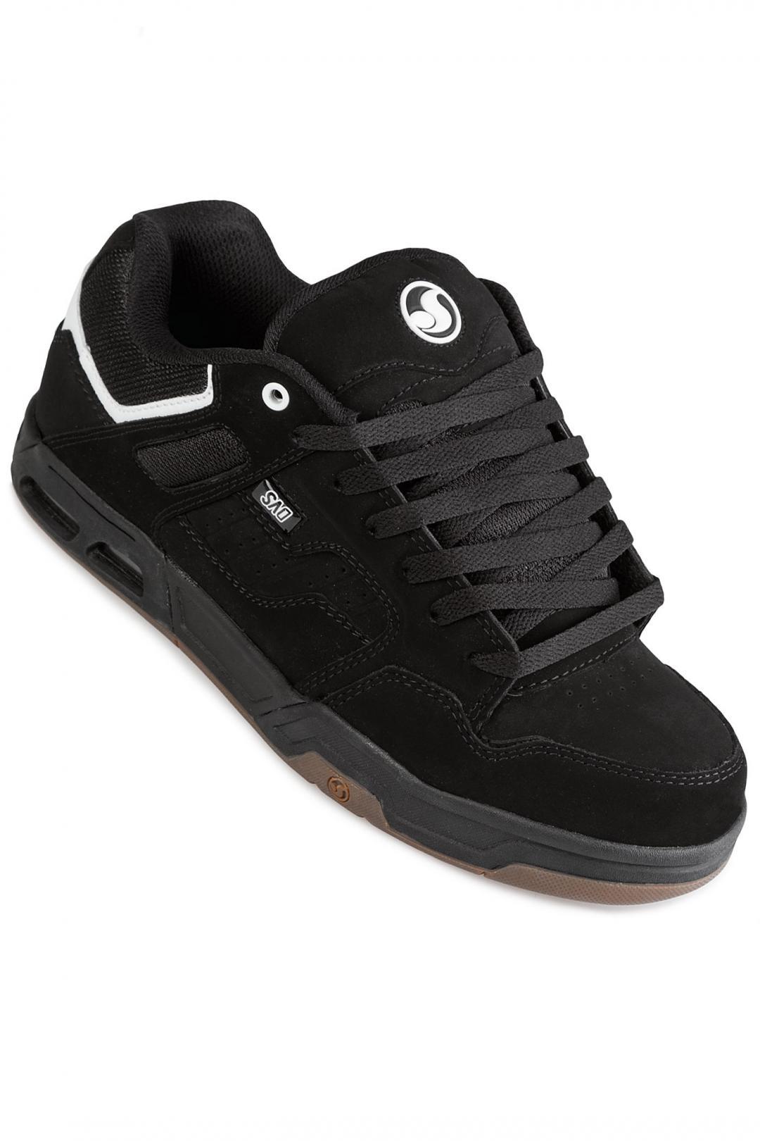 Uomo DVS Enduro Heir black white black | Scarpe da skate