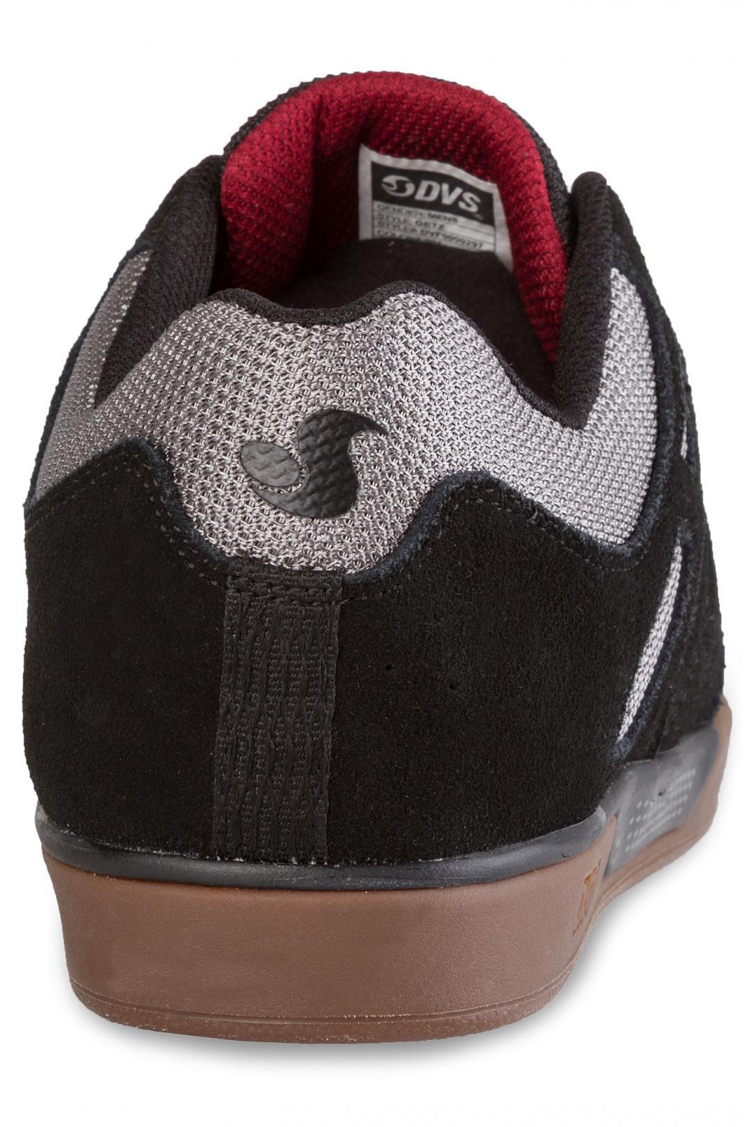 Uomo DVS Getz Suede black gum | Sneaker