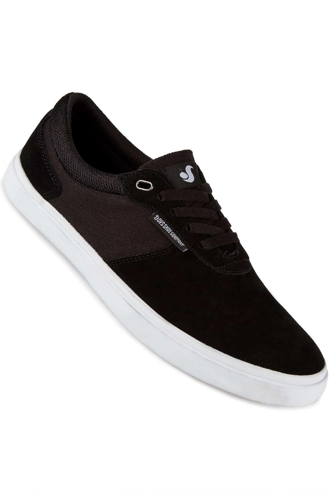 Uomo DVS Merced Suede black white   Sneaker
