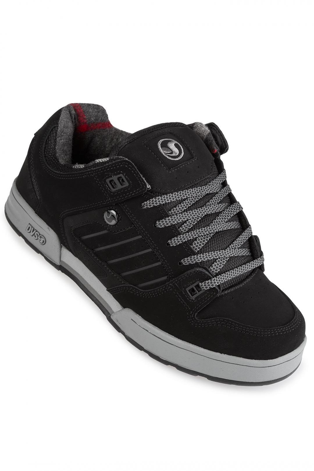 Uomo DVS Militia Snow Nubuck black gargoyle | Sneaker
