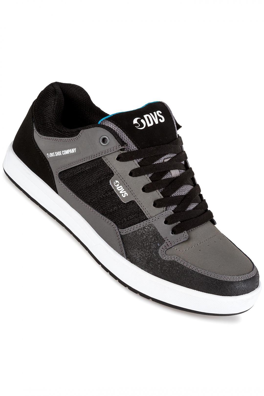 Uomo DVS Portal charcoal black | Sneakers low top