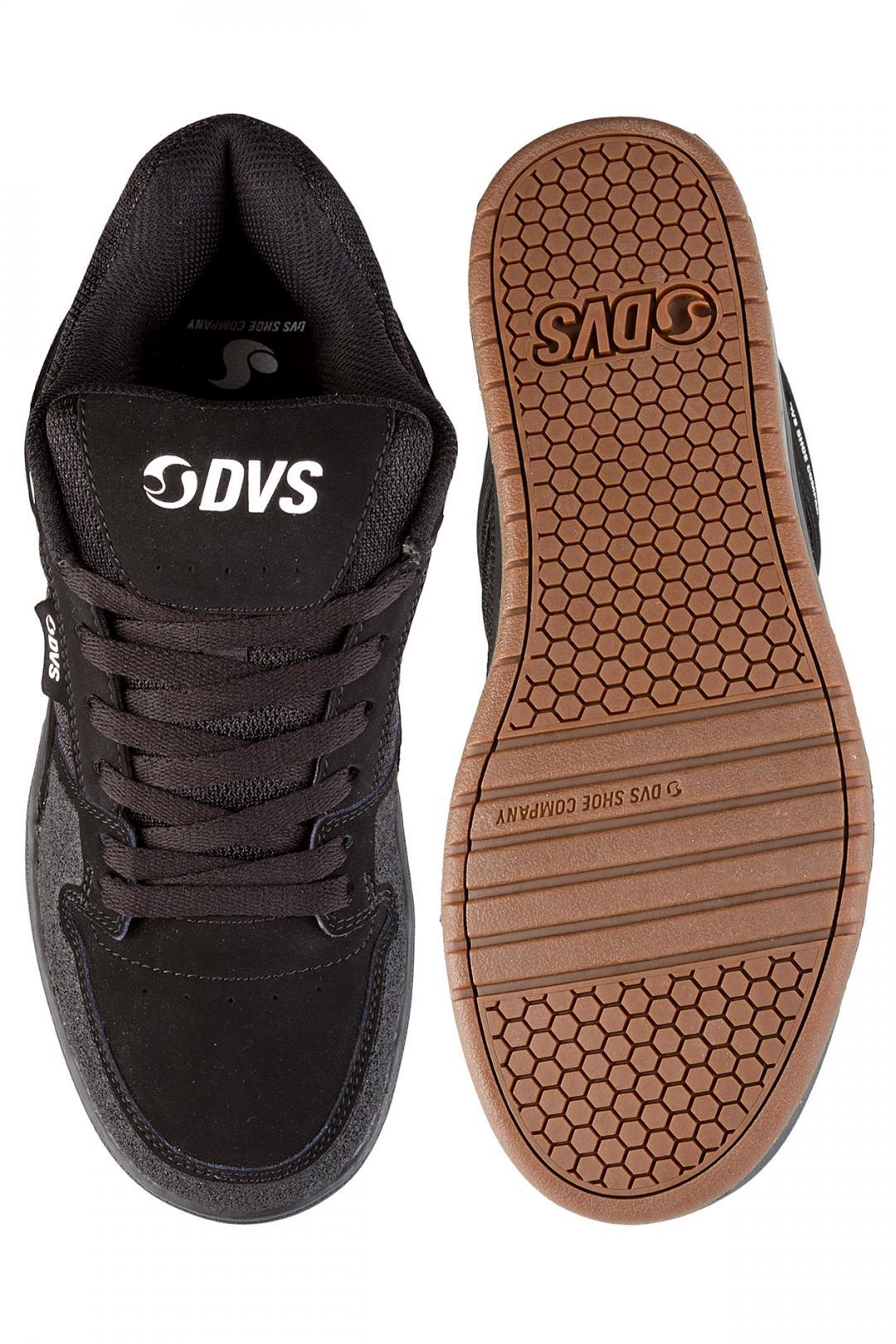 Uomo DVS Portal Nubuck black | Sneakers low top