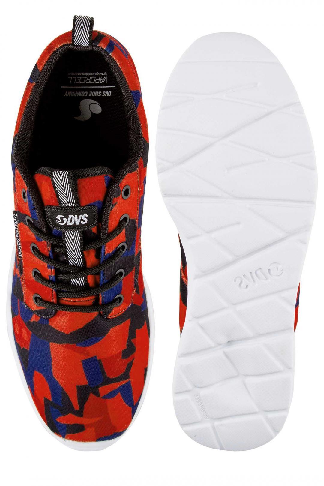 Uomo DVS Premier 2.0 Mesh red blue black   Sneaker