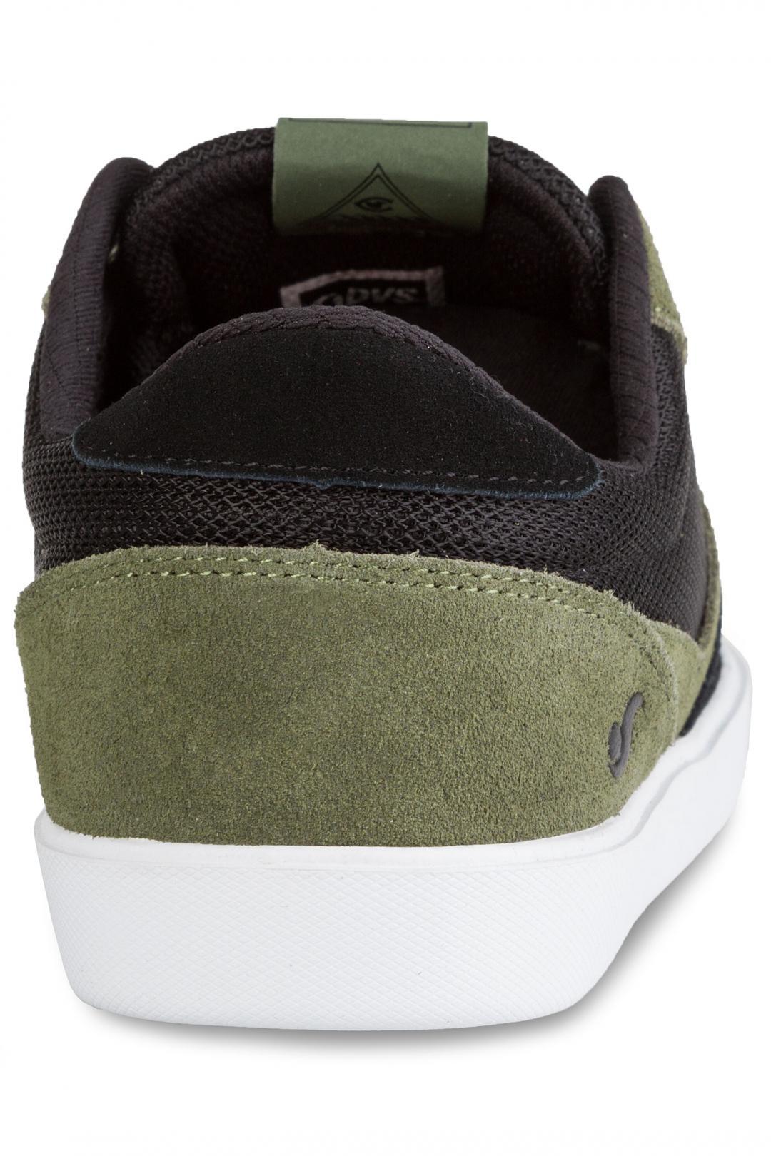 Uomo DVS Pressure SC Suede black olive chilipepper chico | Sneaker