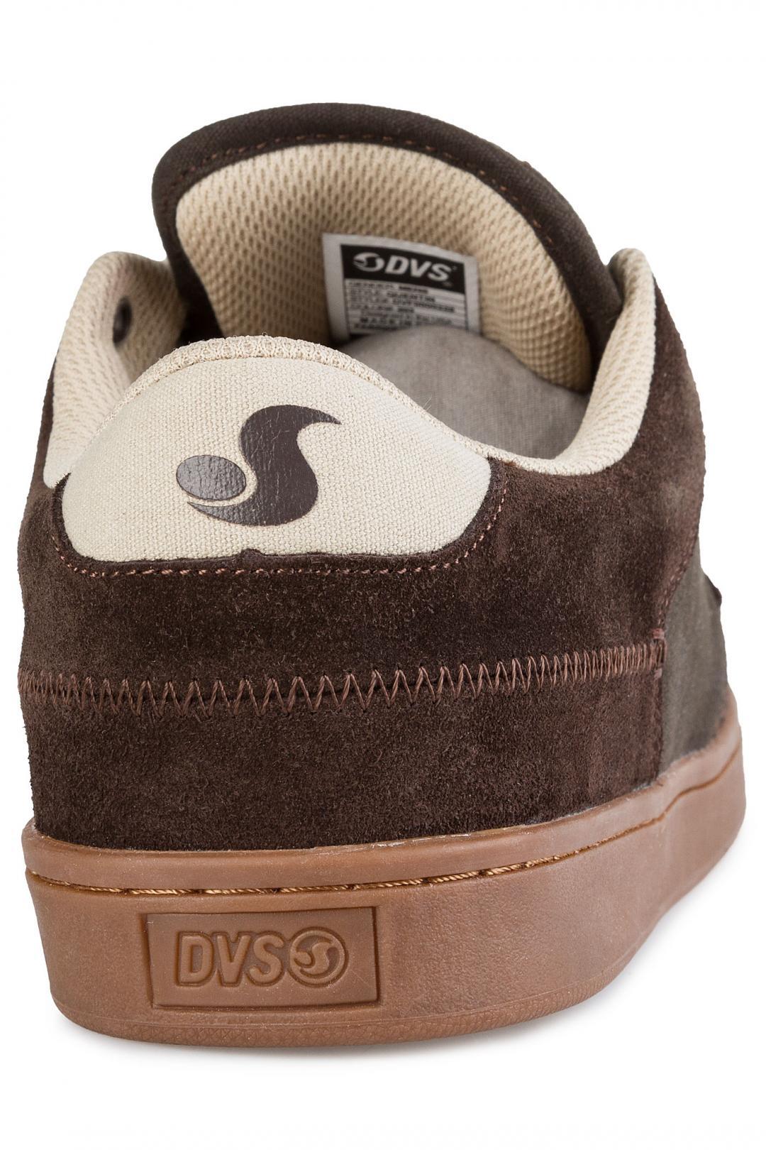 Uomo DVS Quentin Suede chocolate | Sneaker