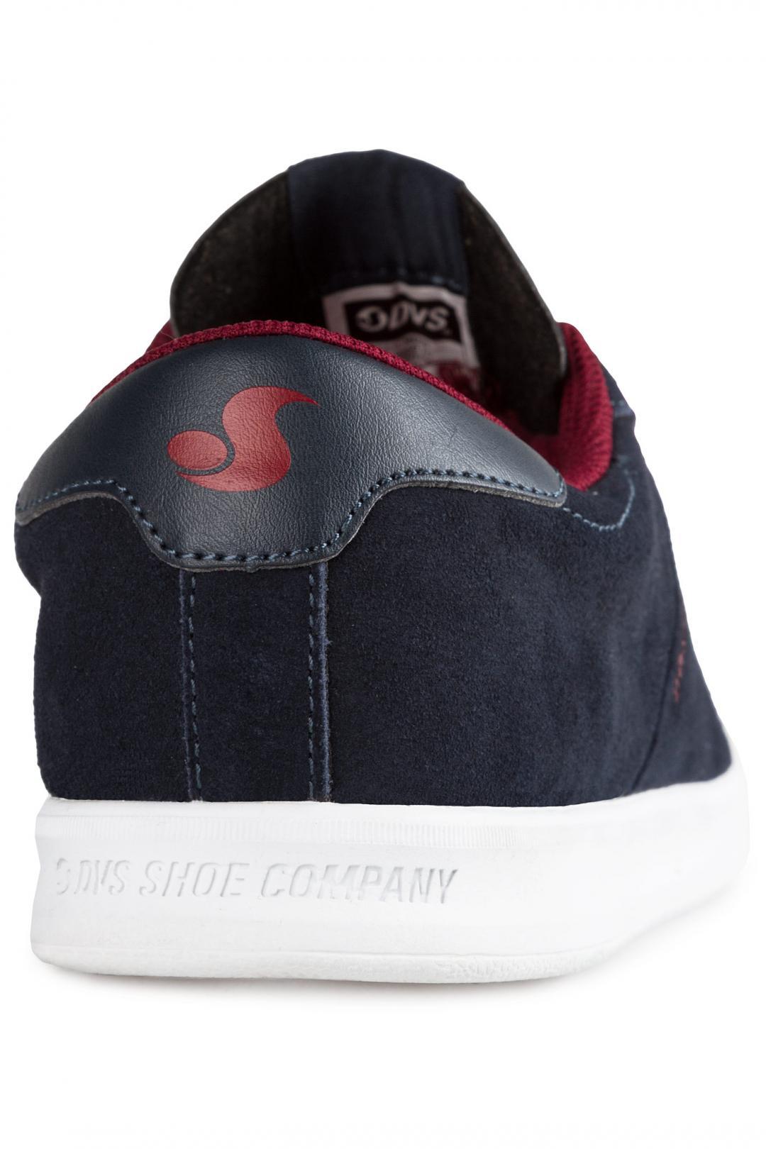 Uomo DVS Rico SC Suede navy port cico | Sneakers low top