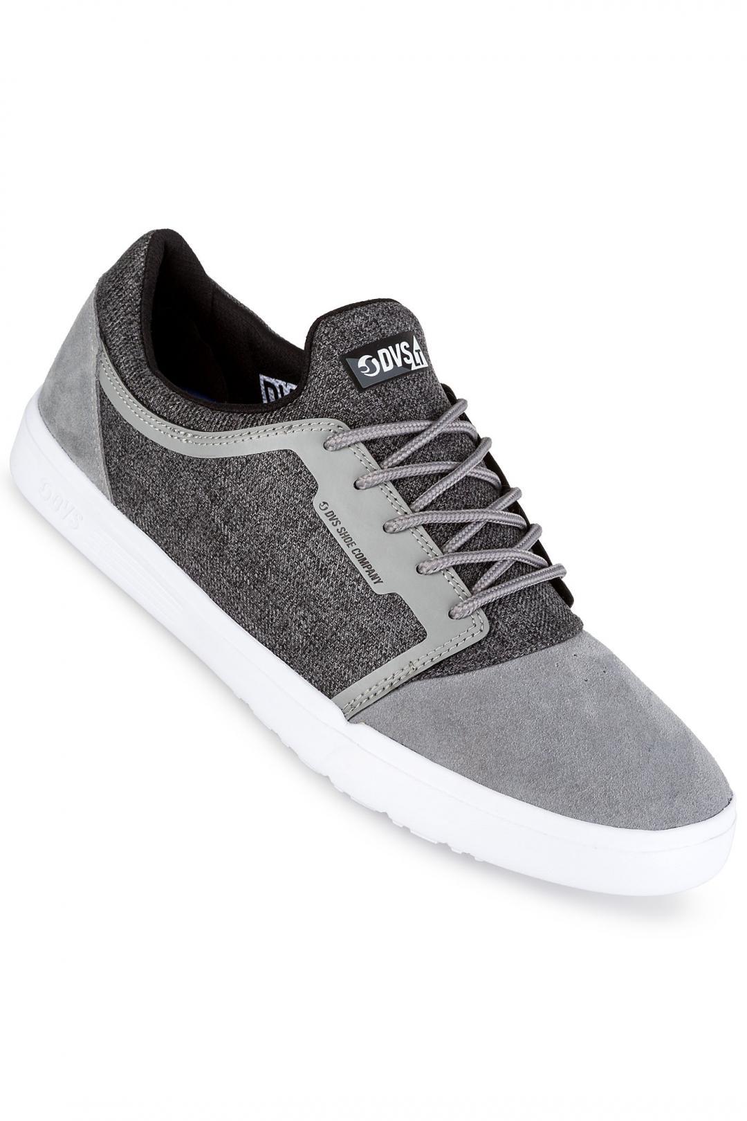 Uomo DVS Stratos LT Suede grey   Sneaker