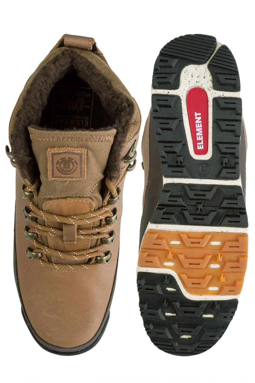 Uomo Element Donnelly walnut premium | Scarpe invernali