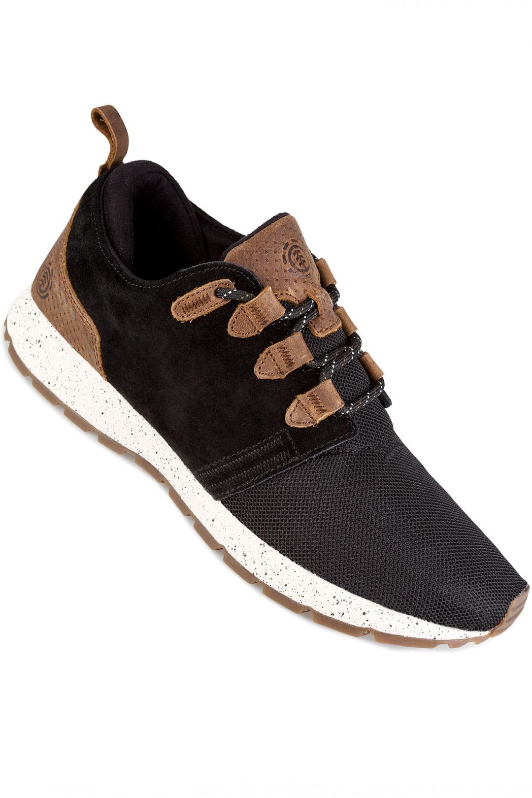 Uomo Element Mitake black taupe | Sneakers low top