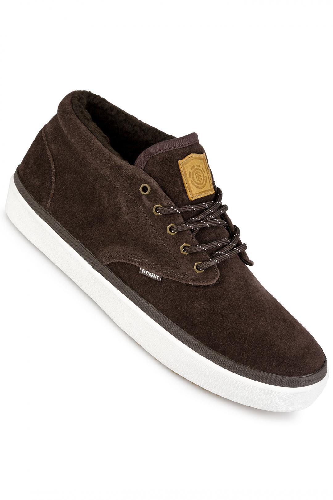 Uomo Element Preston chocolate | Sneakers mid top