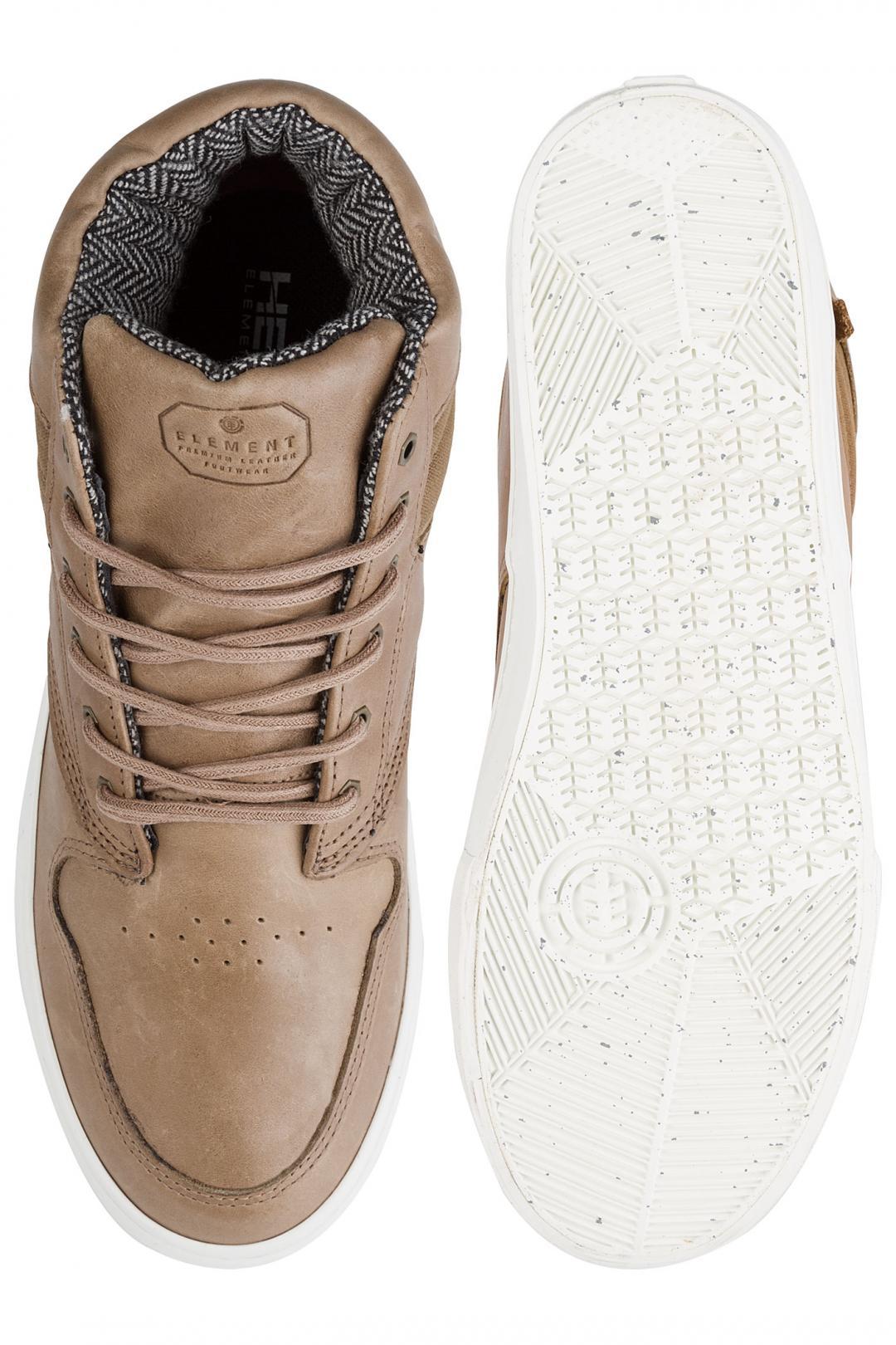 Uomo Element Topaz C3 Mid walnut premium   Sneaker