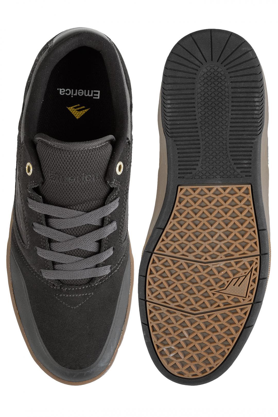 Uomo Emerica Dissent grey gum   Sneaker
