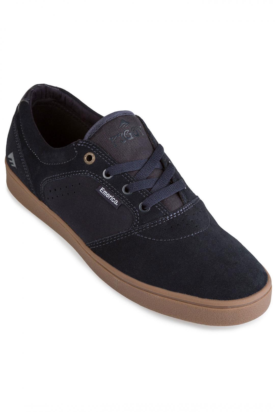 Uomo Emerica Figgy Dose navy gum | Sneakers low top
