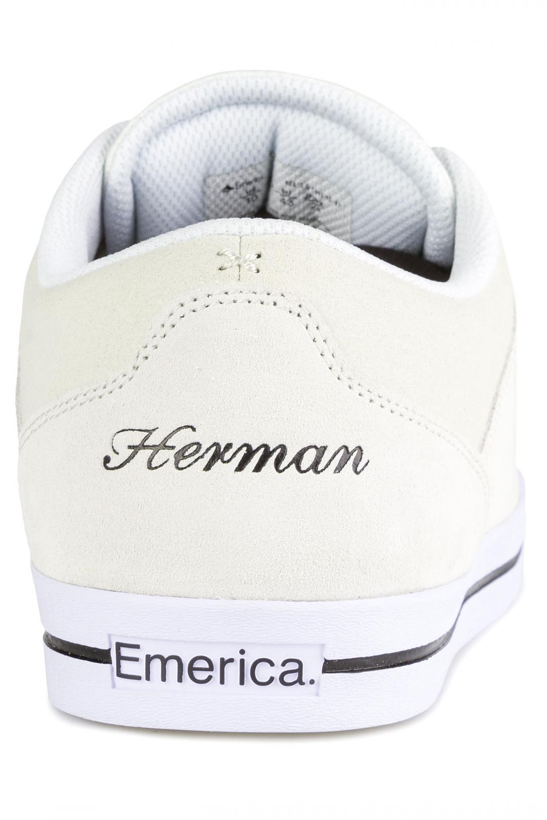 Uomo Emerica G-Code Re-Up white white | Scarpe da skate