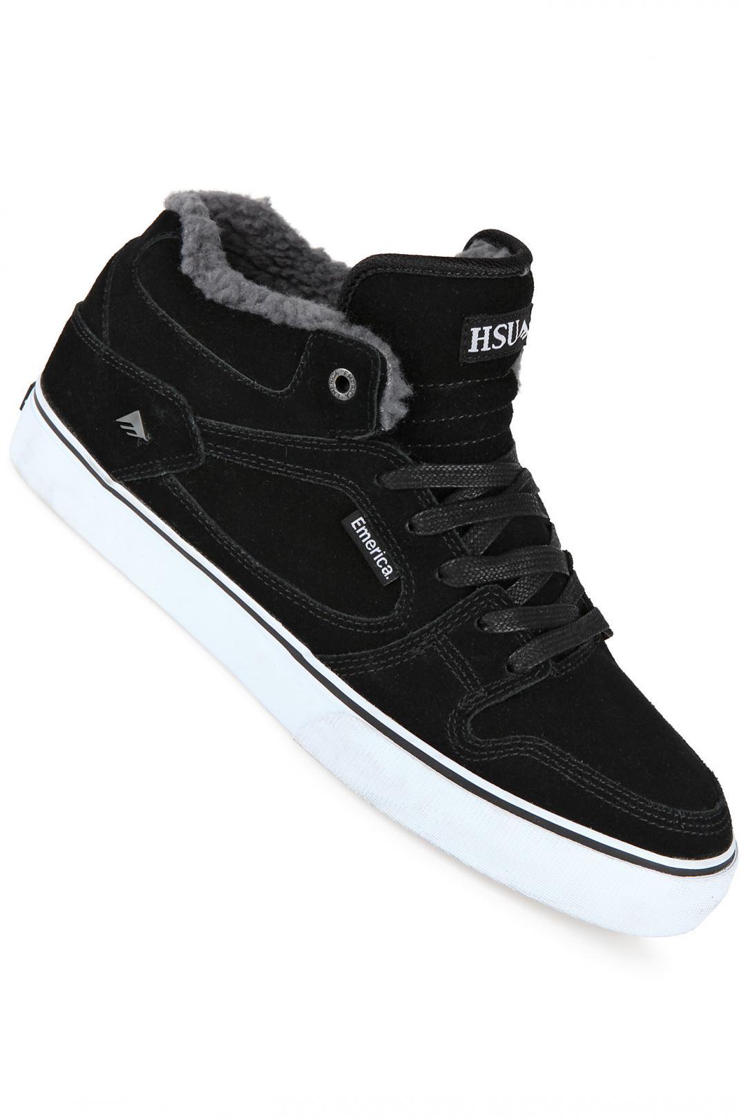 Uomo Emerica HSU SMU black dark grey | Scarpe da skate