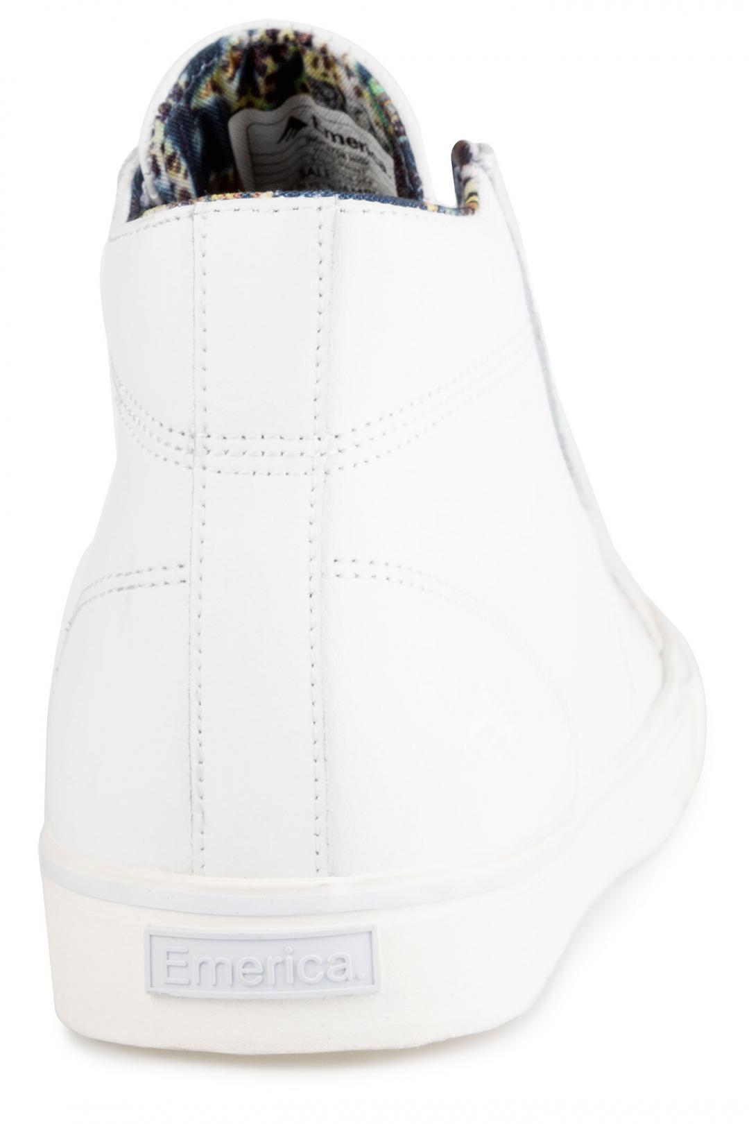 Uomo Emerica Indicator High white print | Scarpe da skate