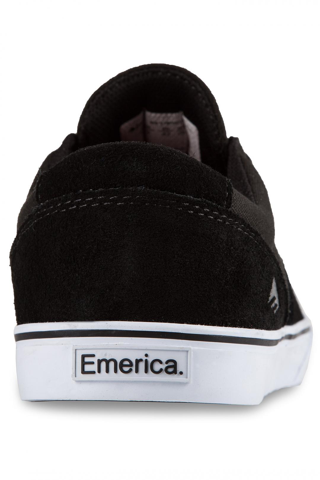 Uomo Emerica Provost Slim Vulc black white | Sneaker