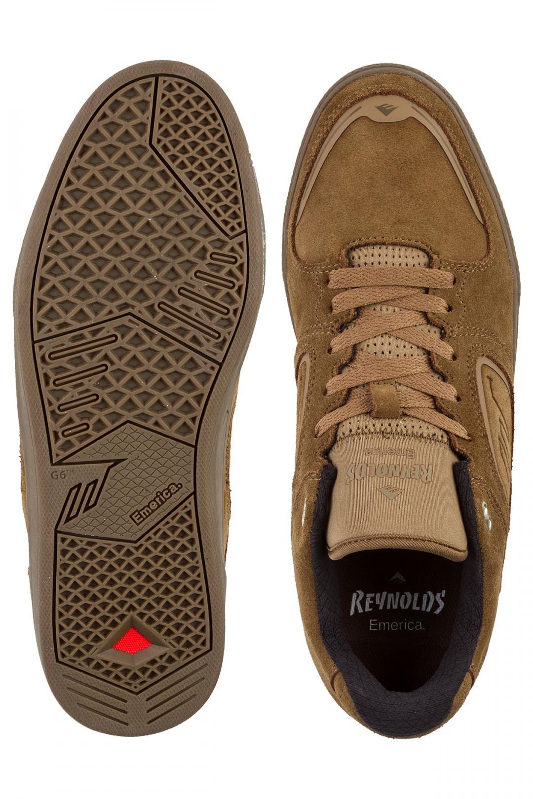 Uomo Emerica Reynolds G6 brown gum | Sneakers low top