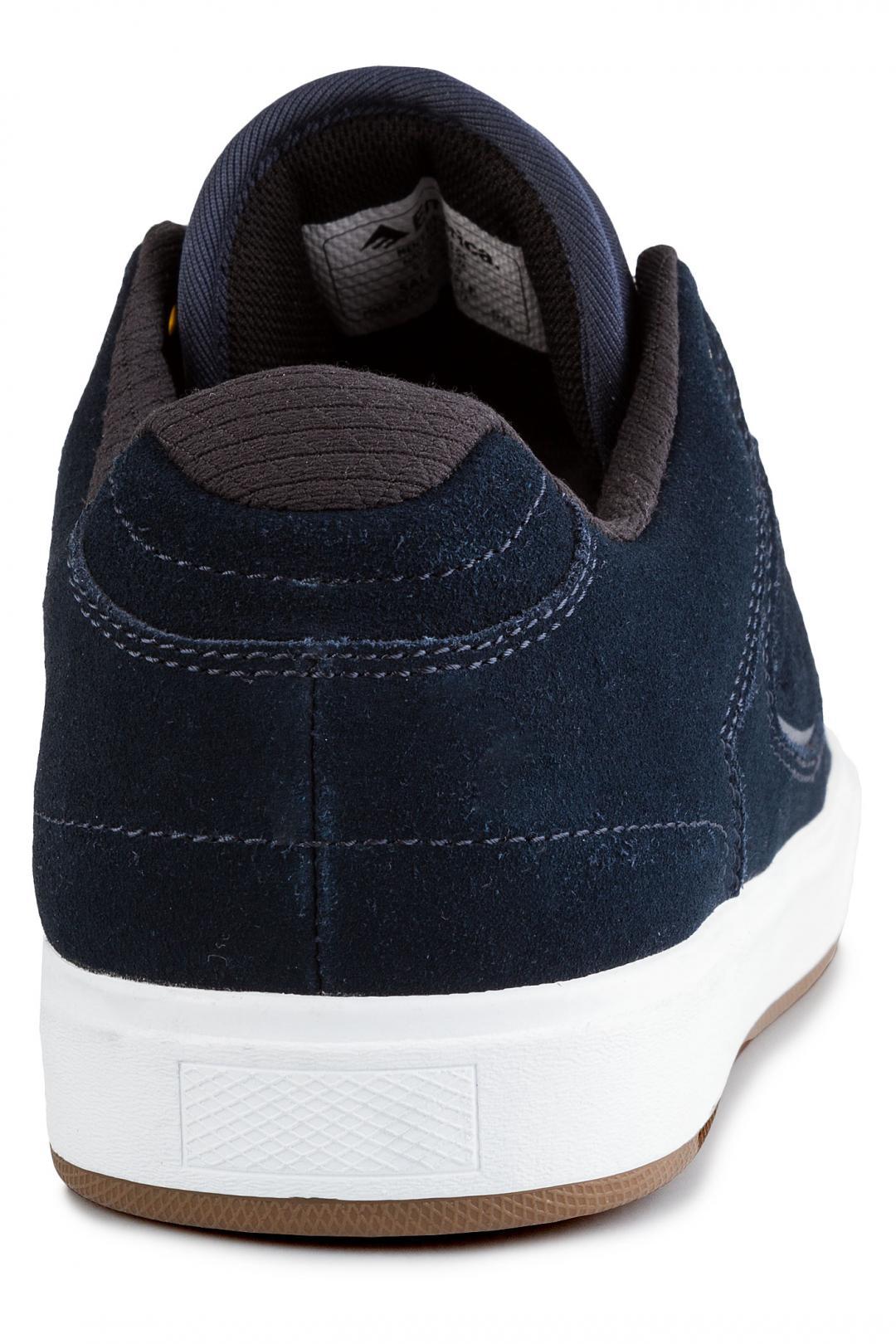 Uomo Emerica Reynolds G6 navy white gum | Sneaker