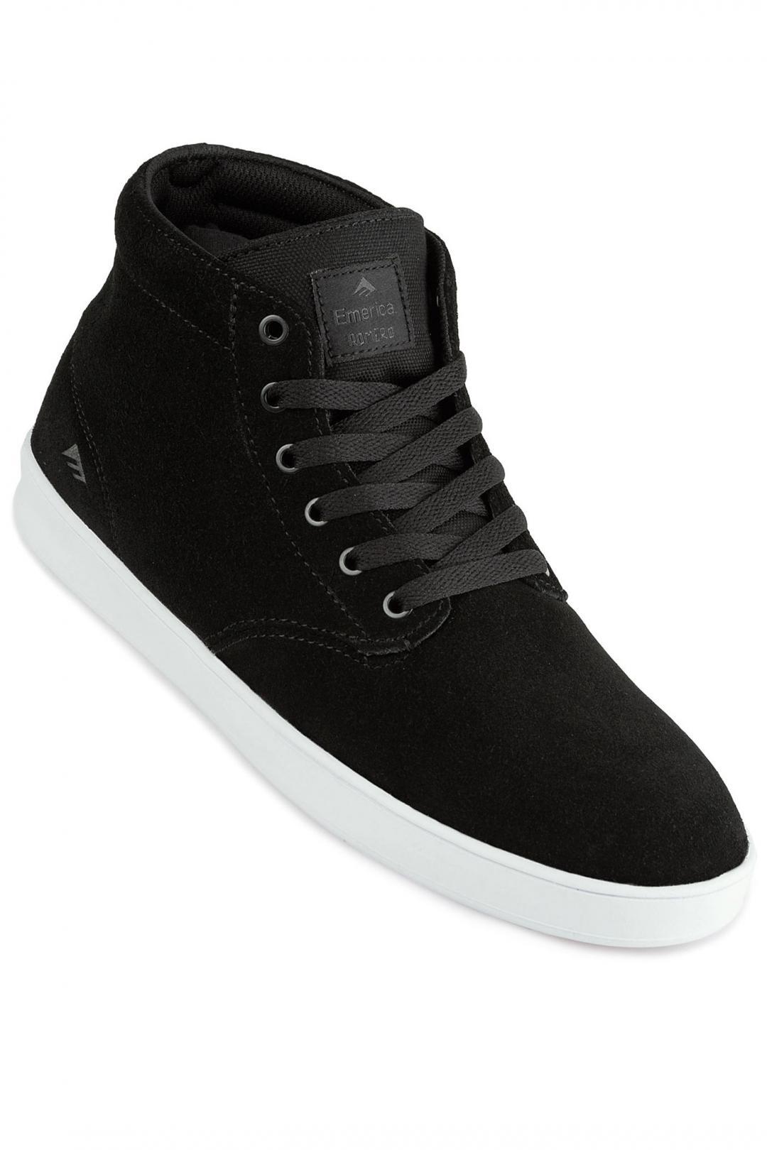 Uomo Emerica Romero Laced High black white   Sneakers high top