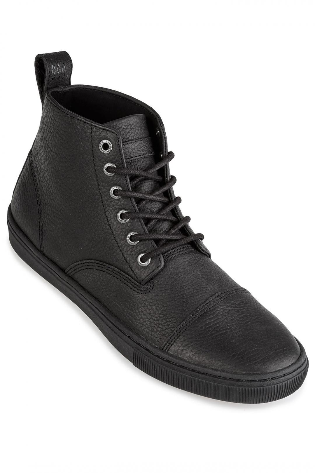 Uomo Emerica Shifter High x Reserve black black gum | Sneaker