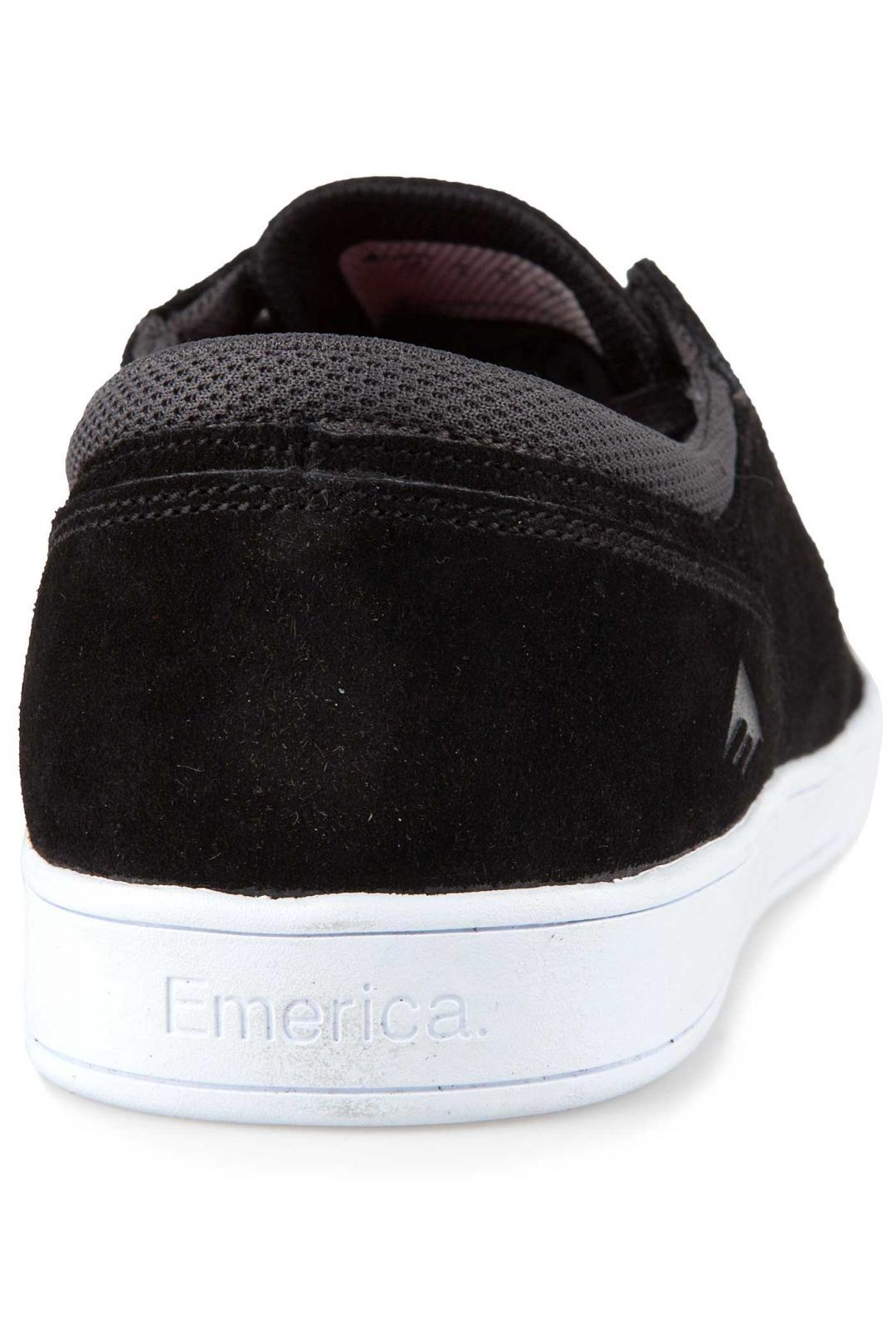 Uomo Emerica The Figueroa black white white | Scarpe da skate